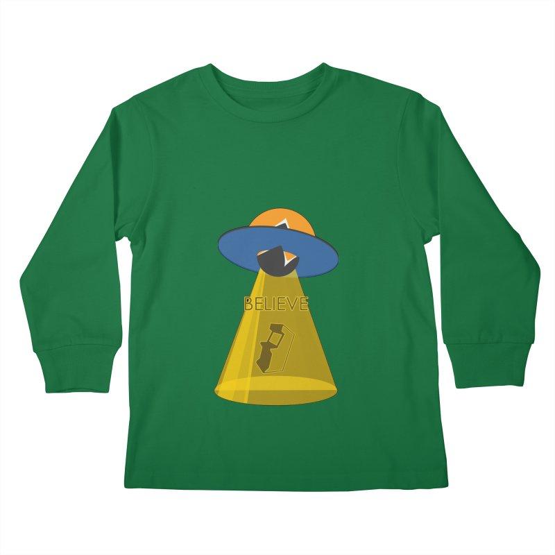 strange headache 01 Kids Longsleeve T-Shirt by NeoGAF Merch Shop