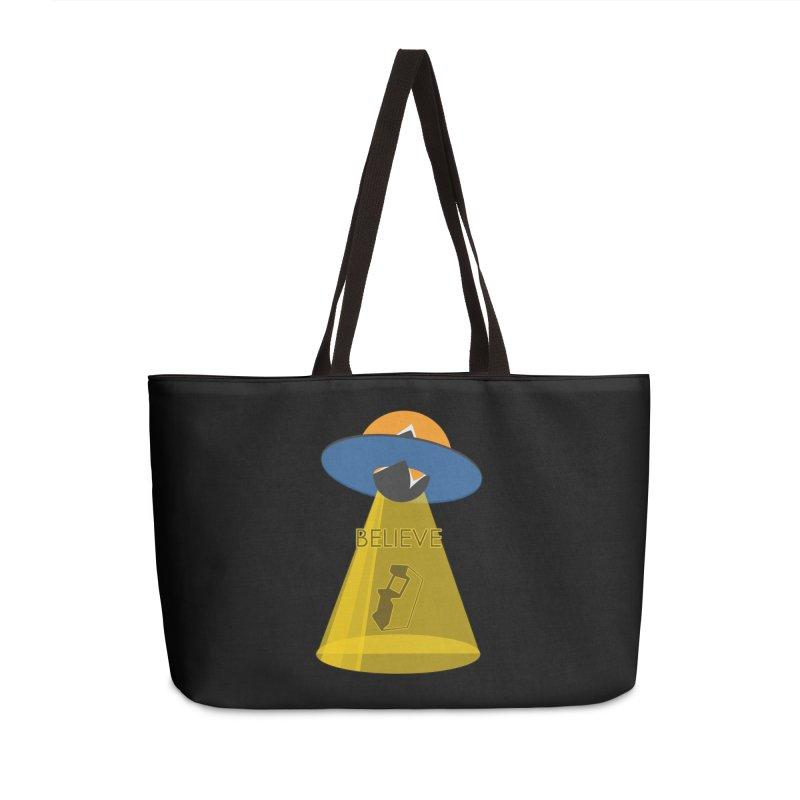 strange headache 01 Accessories Weekender Bag Bag by NeoGAF Merch Shop
