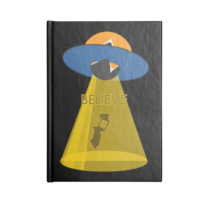 strange headache 01 Accessories Blank Journal Notebook by NeoGAF Merch Shop