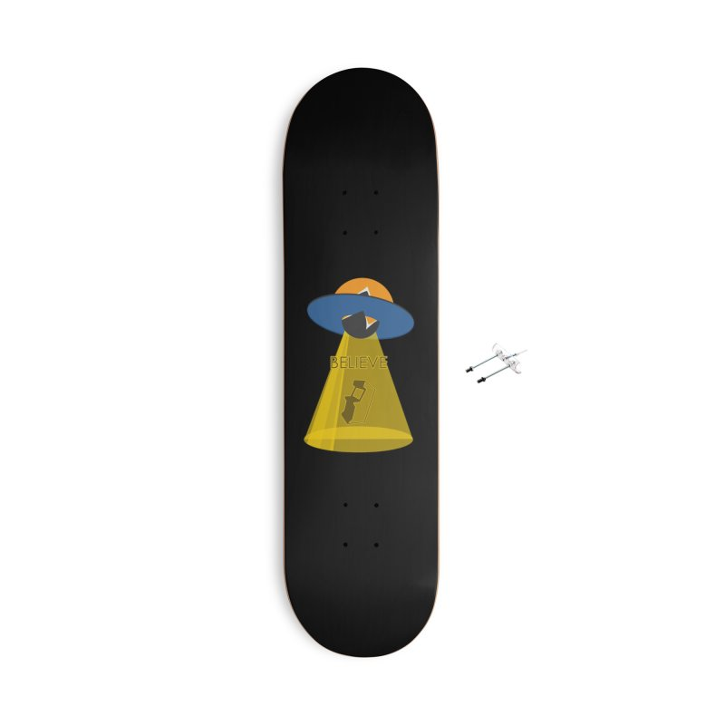 strange headache 01 Accessories With Hanging Hardware Skateboard by NeoGAF Merch Shop