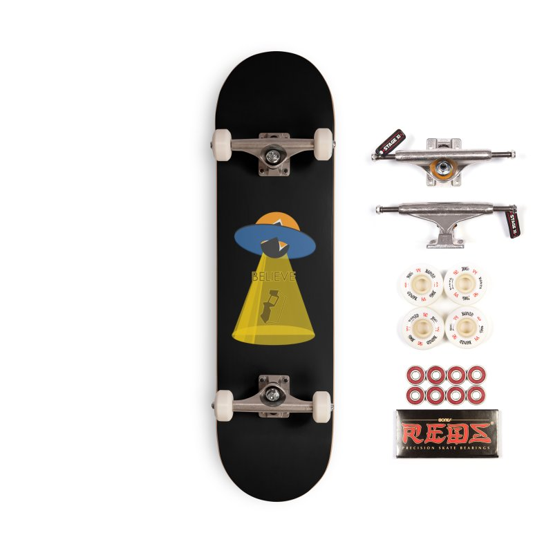strange headache 01 Accessories Complete - Pro Skateboard by NeoGAF Merch Shop