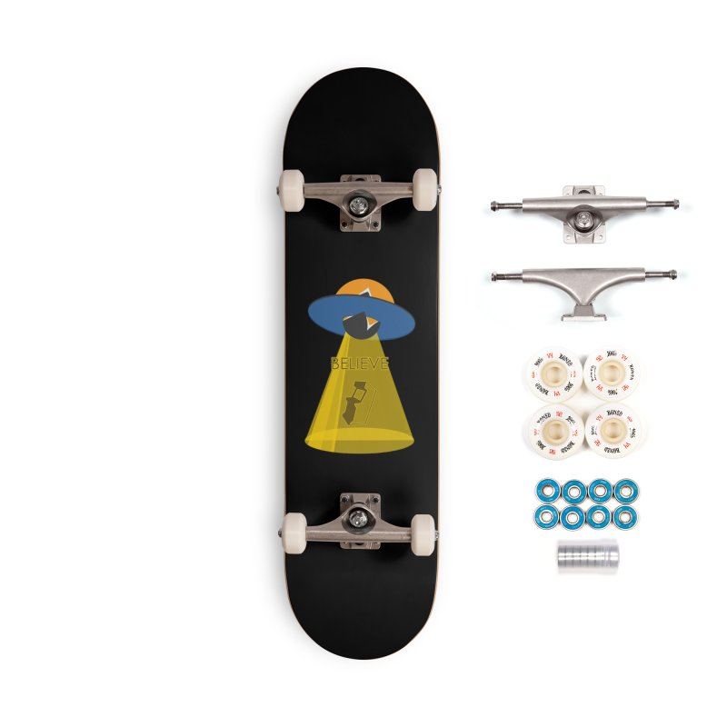 strange headache 01 Accessories Complete - Premium Skateboard by NeoGAF Merch Shop