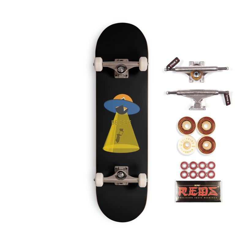 strange headache 01 Accessories Skateboard by NeoGAF Merch Shop