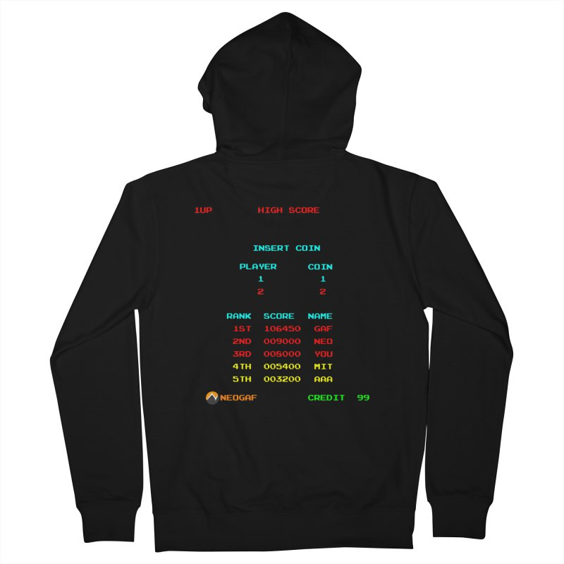 strange headache 02 Men's French Terry Zip-Up Hoody by NeoGAF Merch Shop