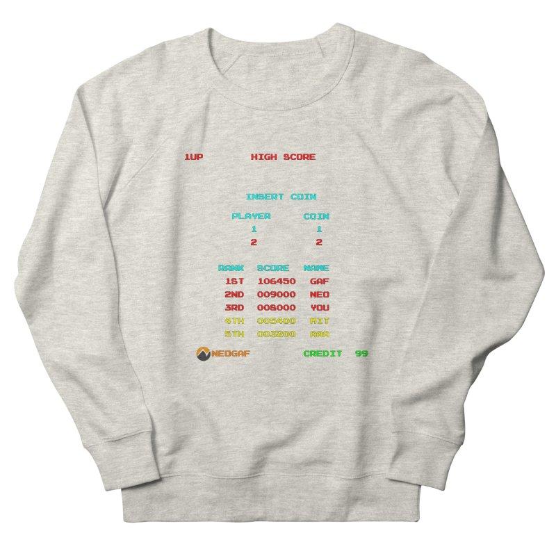 strange headache 02 Men's French Terry Sweatshirt by NeoGAF Merch Shop