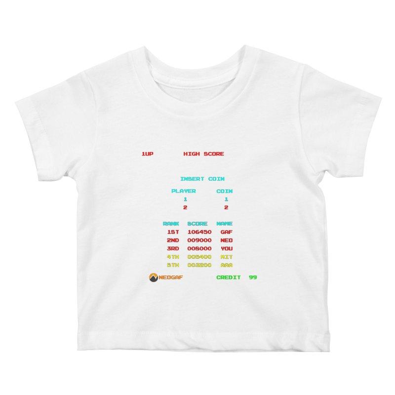 strange headache 02 Kids Baby T-Shirt by NeoGAF Merch Shop