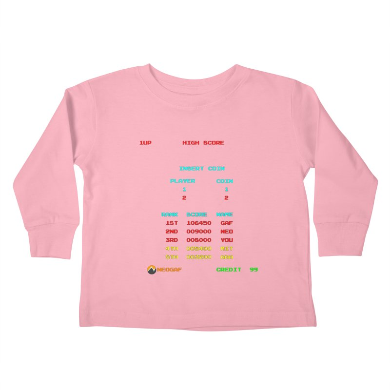 strange headache 02 Kids Toddler Longsleeve T-Shirt by NeoGAF Merch Shop