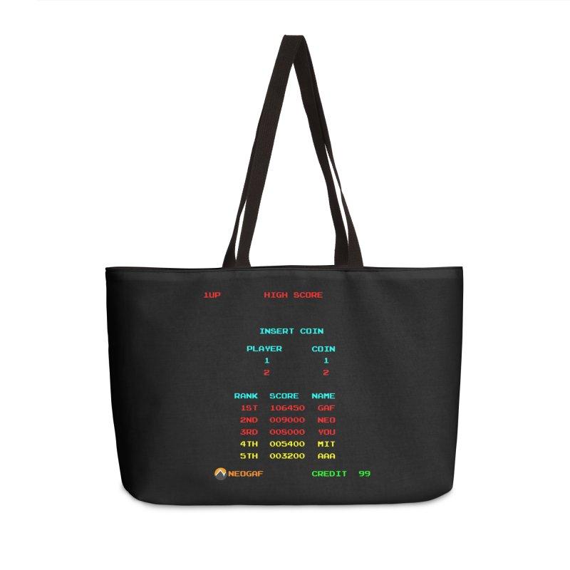 strange headache 02 Accessories Weekender Bag Bag by NeoGAF Merch Shop