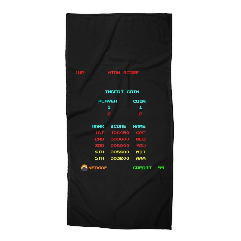 strange headache 02 Accessories Beach Towel by NeoGAF Merch Shop