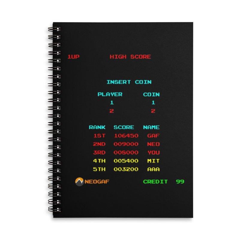strange headache 02 Accessories Notebook by NeoGAF Merch Shop
