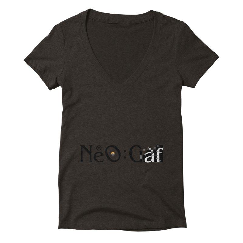 cloudstrife 01 Women's Deep V-Neck V-Neck by NeoGAF Merch Shop