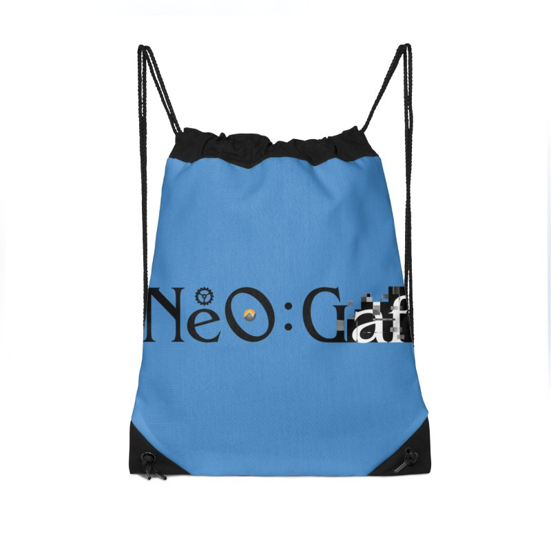 cloudstrife 01 Accessories Drawstring Bag Bag by NeoGAF Merch Shop