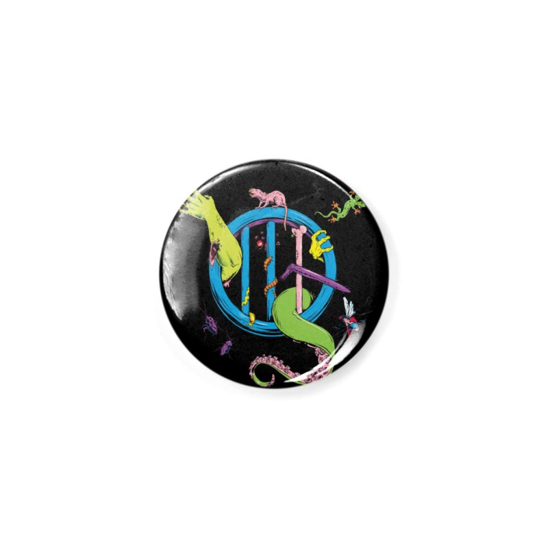 Gross Inside Accessories Button by Neon Robot Graphics