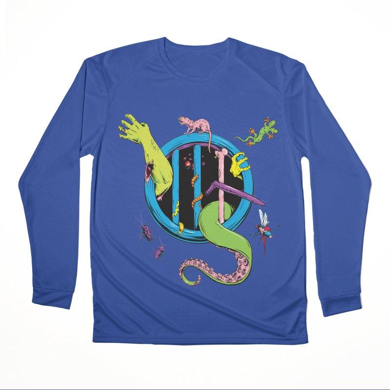 Gross Inside Women's Performance Unisex Longsleeve T-Shirt by Neon Robot Graphics