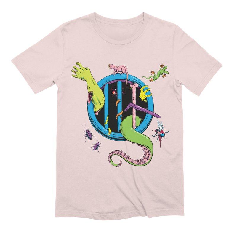 Gross Inside Men's Extra Soft T-Shirt by Neon Robot Graphics