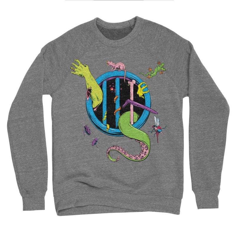 Gross Inside Men's Sponge Fleece Sweatshirt by Neon Robot Graphics