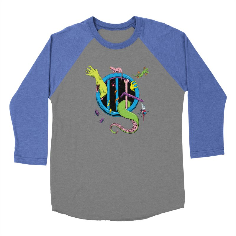 Gross Inside Women's Baseball Triblend Longsleeve T-Shirt by Neon Robot Graphics