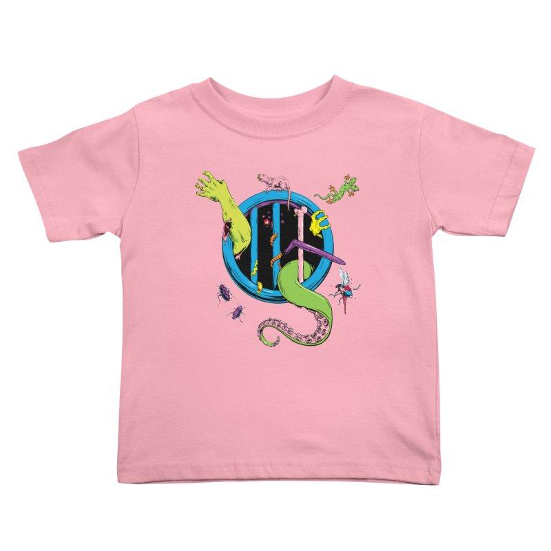 Gross Inside Kids Toddler T-Shirt by Neon Robot Graphics