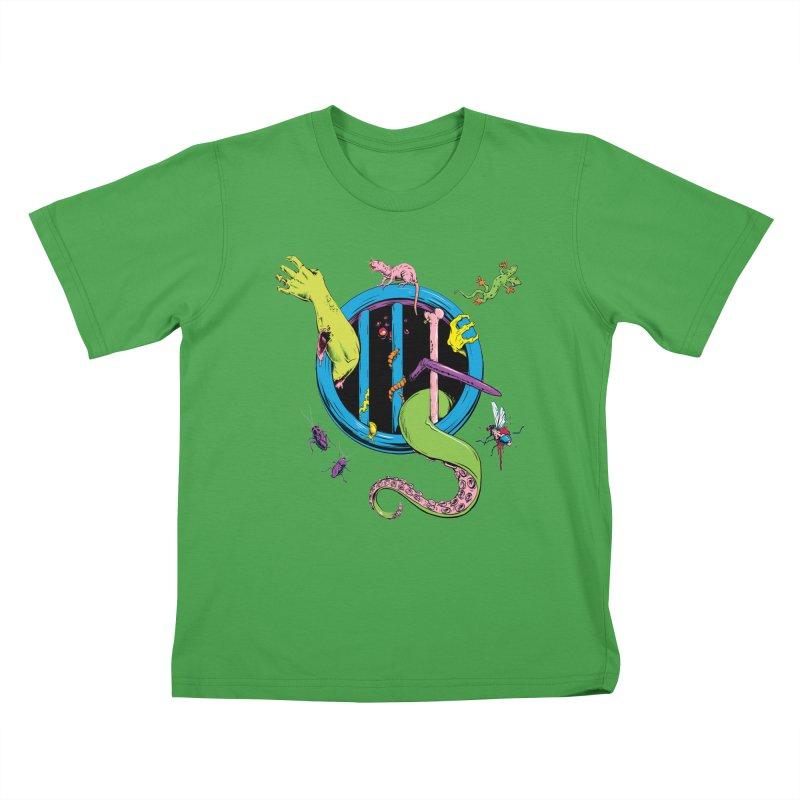 Gross Inside Kids T-Shirt by Neon Robot Graphics