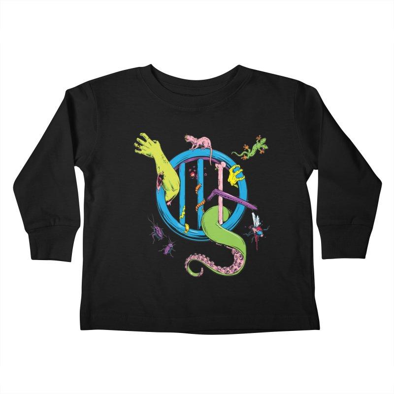 Gross Inside Kids Toddler Longsleeve T-Shirt by Neon Robot Graphics