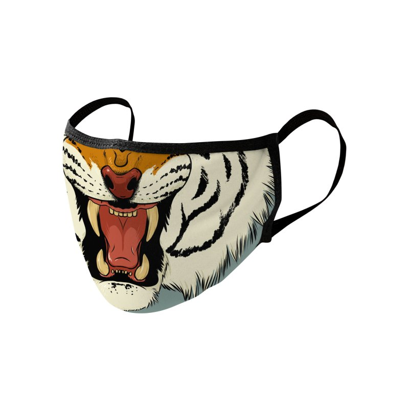 Tyger Tyger Accessories Face Mask by Neon Robot Graphics