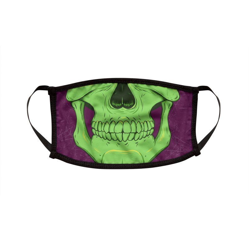 Nuclear Numbskull Accessories Face Mask by Neon Robot Graphics