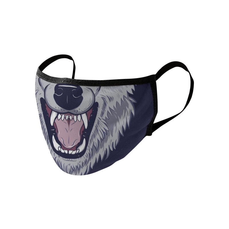 Wearwolf Accessories Face Mask by Neon Robot Graphics