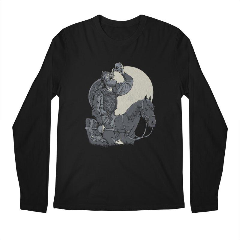Skal Men's Regular Longsleeve T-Shirt by Neon Robot Graphics