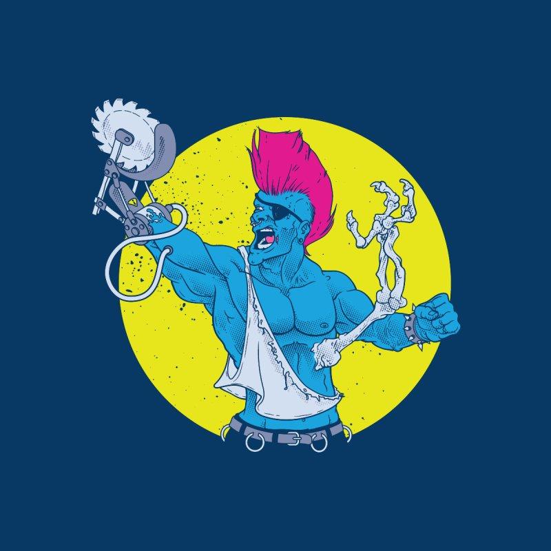 Runk Pock Men's T-Shirt by Neon Robot Graphics