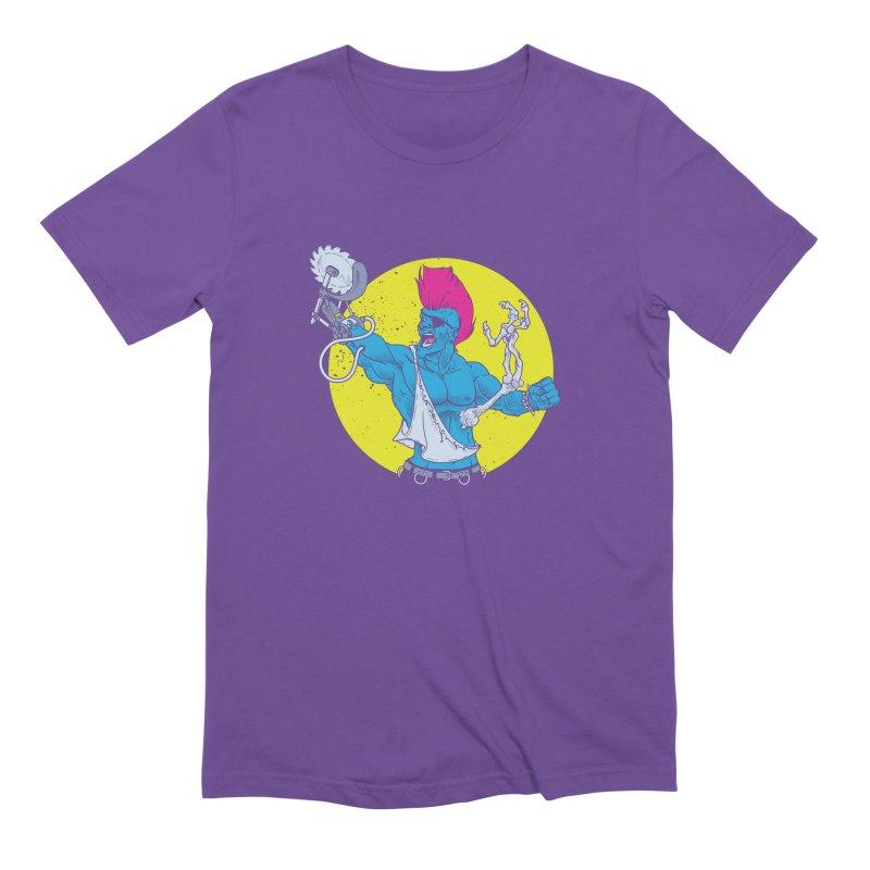 Runk Pock Men's Extra Soft T-Shirt by Neon Robot Graphics