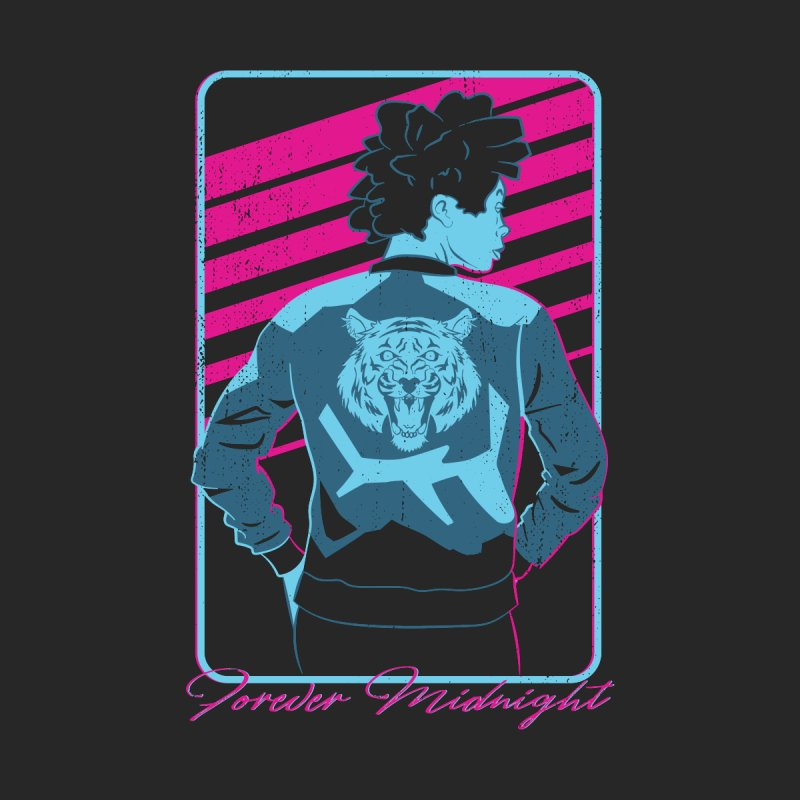 Forever Midnight Men's T-Shirt by Neon Robot Graphics