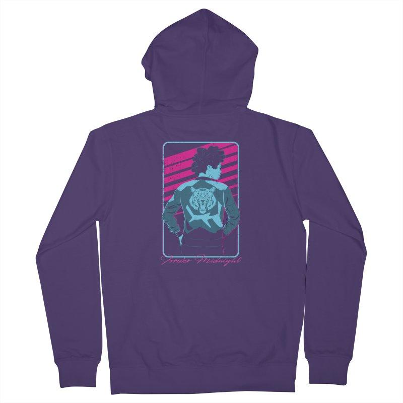 Forever Midnight Women's Zip-Up Hoody by Neon Robot Graphics