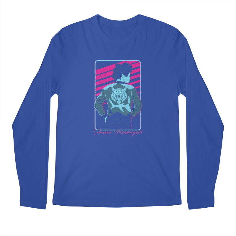 Forever Midnight Men's Regular Longsleeve T-Shirt by Neon Robot Graphics
