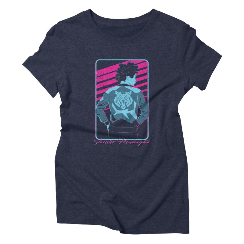 Forever Midnight Women's T-Shirt by Neon Robot Graphics