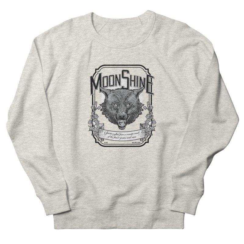 Moonshine Women's French Terry Sweatshirt by Neon Robot Graphics