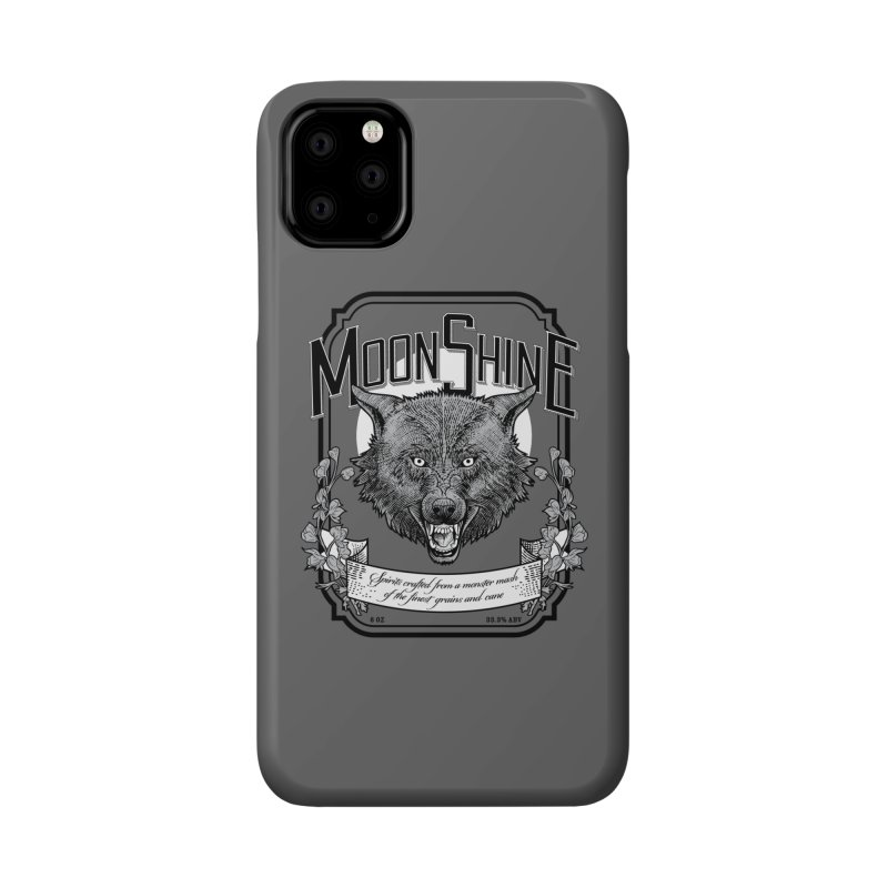 Moonshine Accessories Phone Case by Neon Robot Graphics