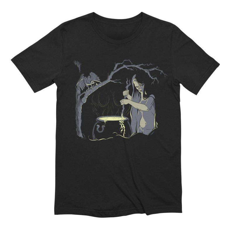 Witch's Brew Men's Extra Soft T-Shirt by Neon Robot Graphics