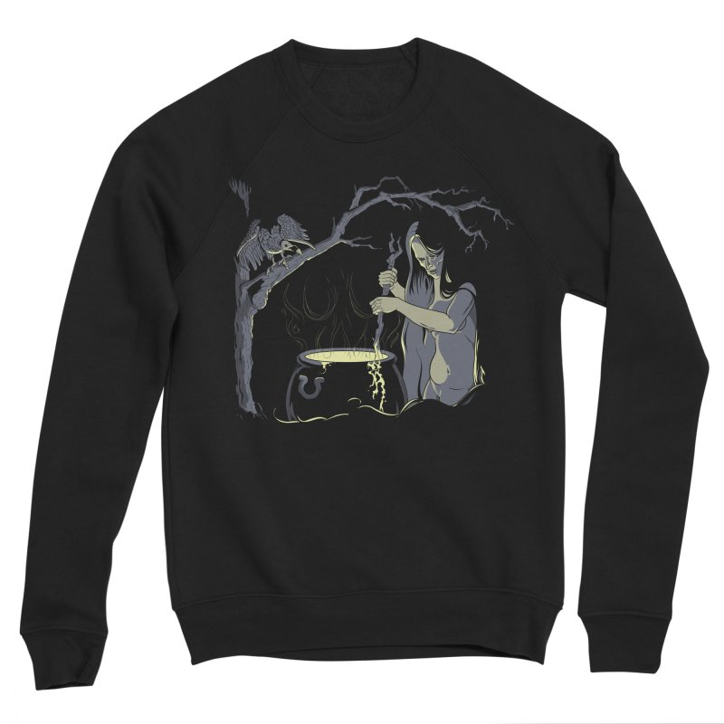 Witch's Brew Women's Sponge Fleece Sweatshirt by Neon Robot Graphics