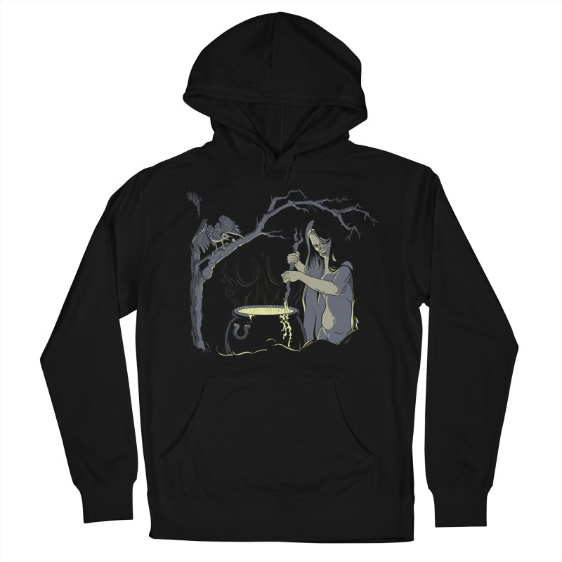 Witch's Brew Women's French Terry Pullover Hoody by Neon Robot Graphics