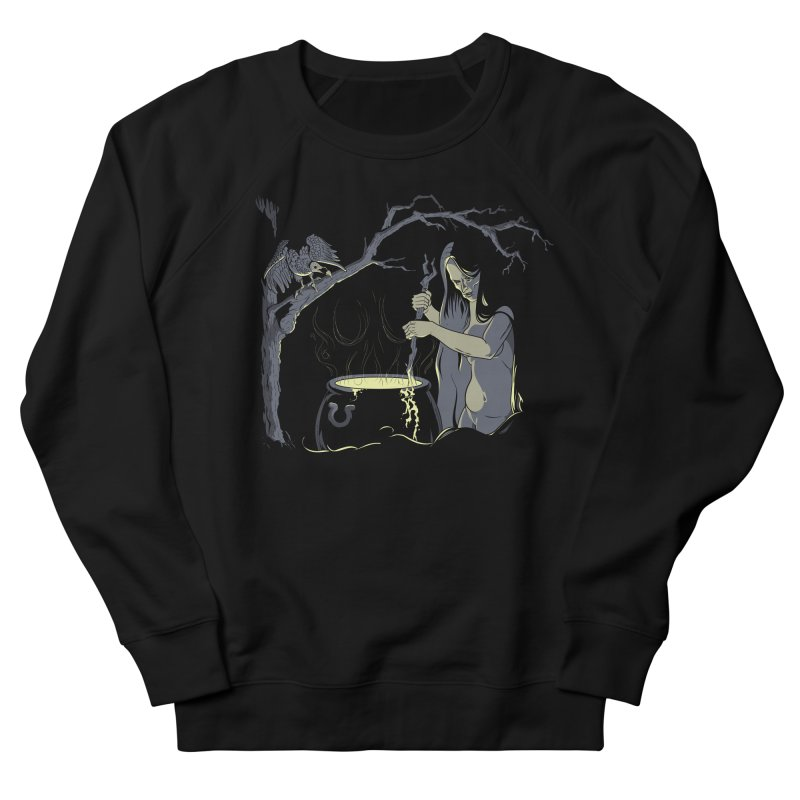 Witch's Brew Men's French Terry Sweatshirt by Neon Robot Graphics
