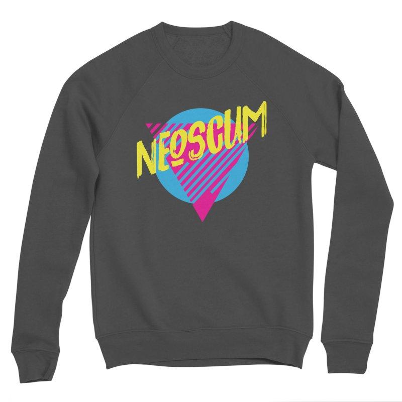 NeoScum Retro Omega Women's Sponge Fleece Sweatshirt by NeoScum Shop