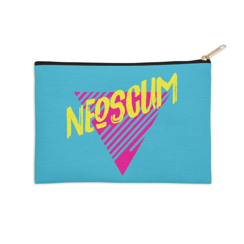 NeoScum Retro Alpha Accessories Zip Pouch by NeoScum Shop