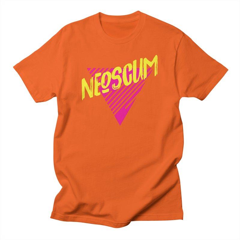 NeoScum Retro Alpha Men's T-Shirt by NeoScum Shop