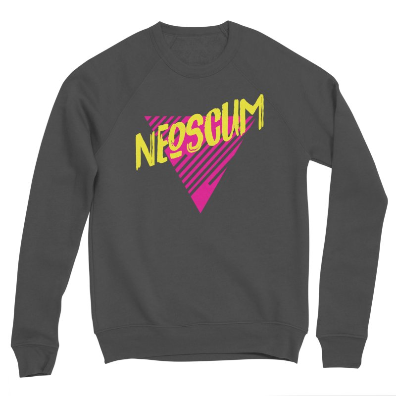 NeoScum Retro Alpha Women's Sponge Fleece Sweatshirt by NeoScum Shop