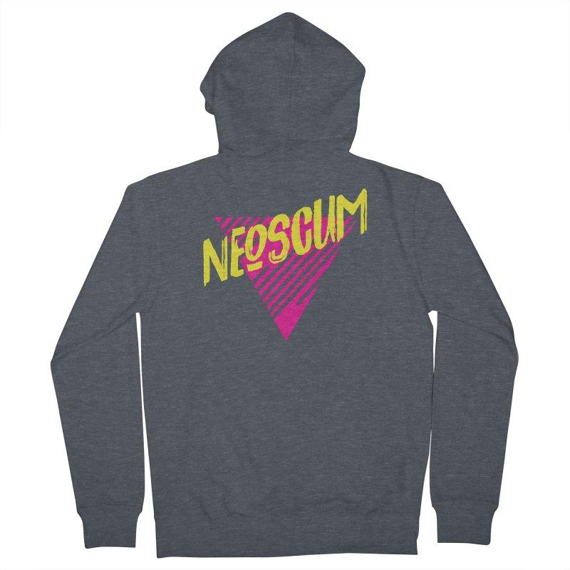 NeoScum Retro Alpha Women's French Terry Zip-Up Hoody by NeoScum Shop