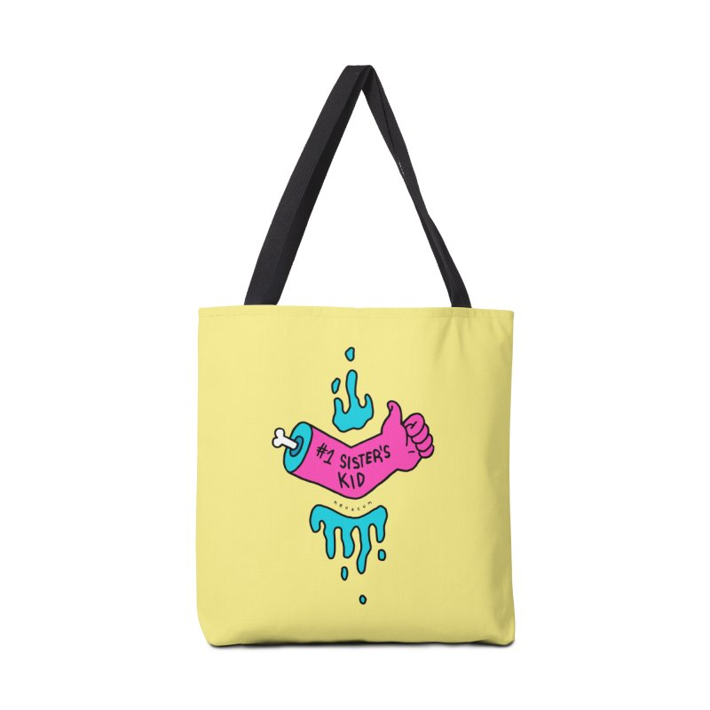 #1 Sister's Kid Classic Accessories Tote Bag Bag by NeoScum Shop