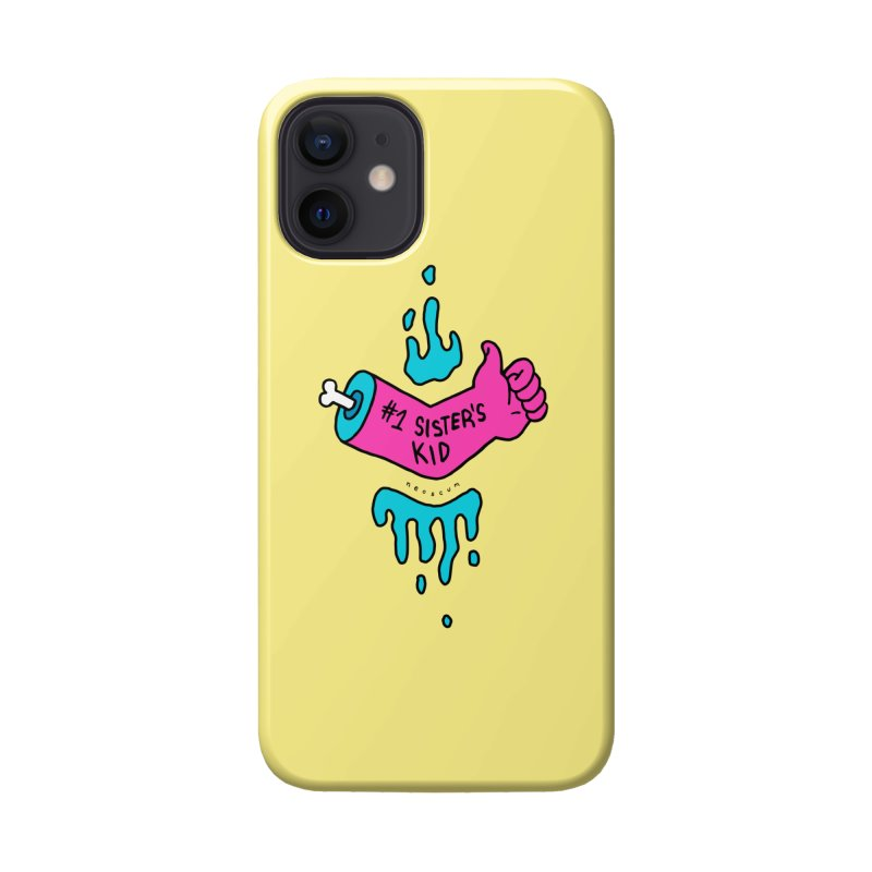 #1 Sister's Kid Classic Accessories Phone Case by NeoScum Shop
