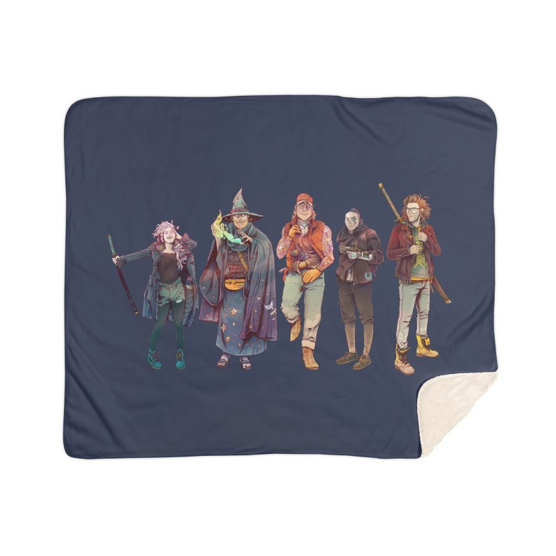 The NeoScum Home Sherpa Blanket Blanket by NeoScum Shop