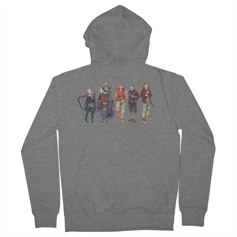 The NeoScum Women's French Terry Zip-Up Hoody by NeoScum Shop