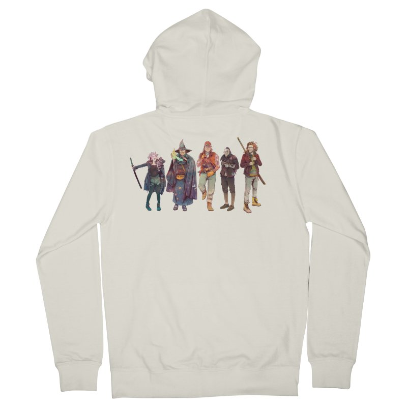 The NeoScum Men's French Terry Zip-Up Hoody by NeoScum Shop